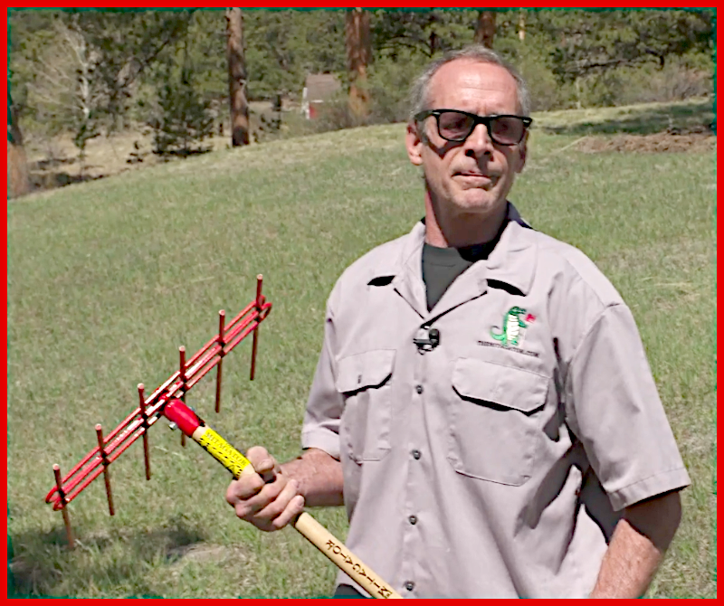 Bill Link with The Mitagator Fire Mitigation Tool for homeowners and professionals