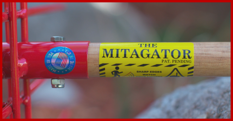 The Mitagator Fire Mitigation Tool has multiple uses for homeowners, forest management and disaster clean up