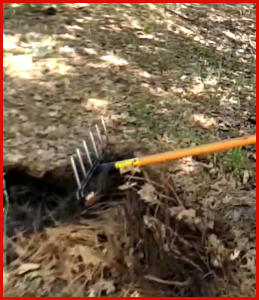 The Mitagator Hand Tool Clears Pine Needle Twigs And Rocks Better Than A Rake